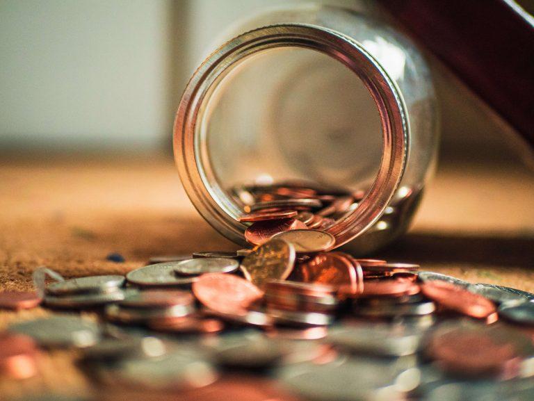Pieniądze w słoiku