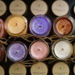 Kolorowe świeczki
