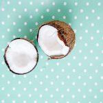 Połówki kokosa