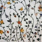 Wyhaftowane kwiatki