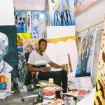 Afrykański malarz